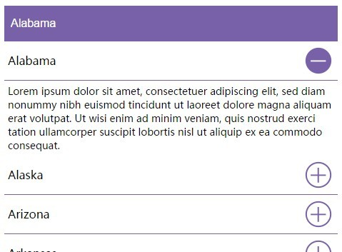 jQuery Plugin For Accordion Style Responsive Select Menu