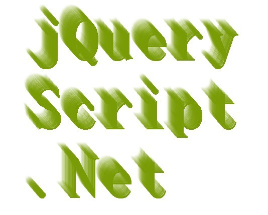 jQuery Plugin For Animated 3D Text Shadow Effect
