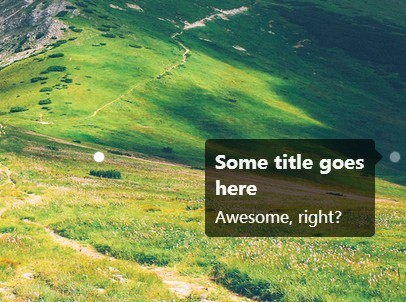 jQuery Plugin For Animated Image Notes & Markers - Bullseye