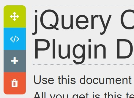 Jquery plugin for attaching floating panels to elements - Jquery floating div ...