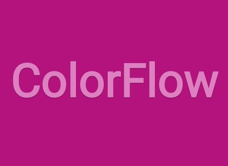 jQuery Plugin For Background/Text Color Transition Effects - ColorFlow
