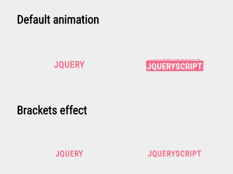 jQuery Plugin For CSS3 Animated Anchor Links - anchorHoverEffect
