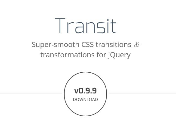 jQuery Plugin For CSS3 Transforms and Transitions - Transit