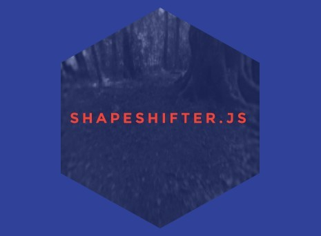 jQuery Plugin For Converting DIVs Into SVG Shapes - Shape Shifter