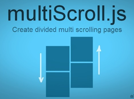 jQuery Plugin For Creating One Page Multi Scrolling Website - multiScroll.js