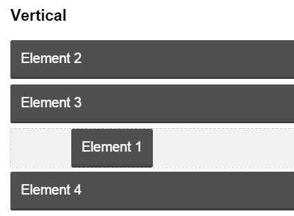 jQuery Plugin For Creating Sortable Elements - jsortable