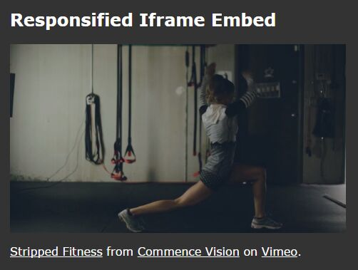 jQuery Plugin For Cross-domain Responsive iframes - iframe-responsify