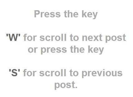 jQuery Plugin For Custom Keyboard Page Navigation