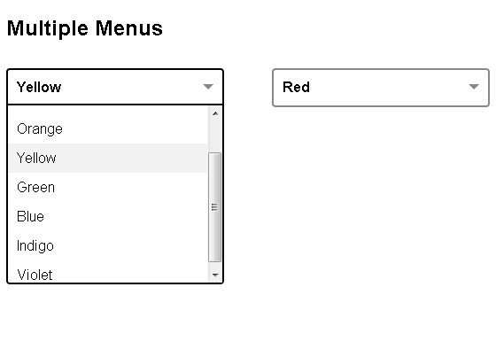jQuery Plugin For Custom Select Menus