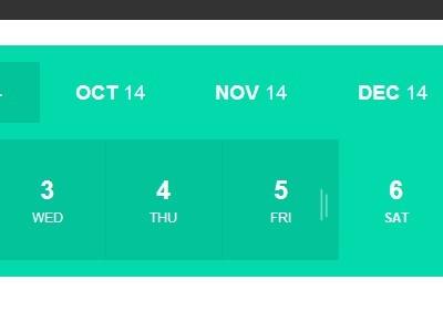 jQuery Plugin For Date Range Selector - Range Calendar
