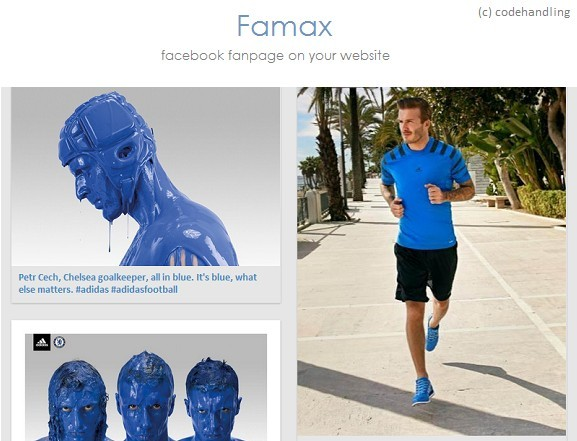 jQuery Plugin For Displaying Complete Facebook Fanpage Data - Famax