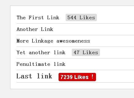 jQuery Plugin For Displaying Facebook Likes For Your Links - Huge On Facebook
