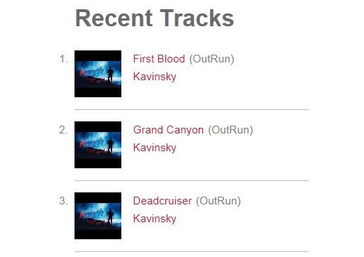 jQuery Plugin For Displaying Scrobbled Songs On Last.fm - tunez