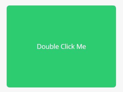 jQuery Plugin For Double Click/Tap Detection - doubleTap