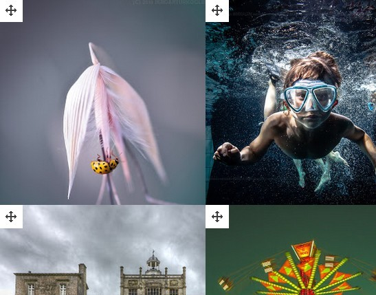 jQuery Plugin For Drag and Drop Grid Layout - DND Grid