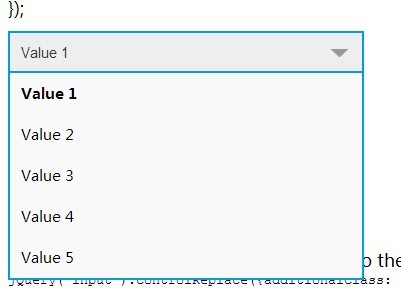 jQuery Plugin For Form Elements Replacement - controlReplace
