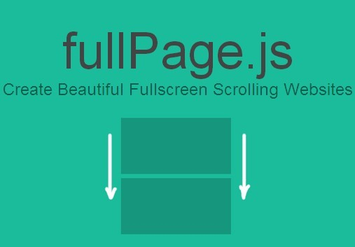 jQuery Plugin For Fullscreen One Page Scrolling Websites - fullPage.js