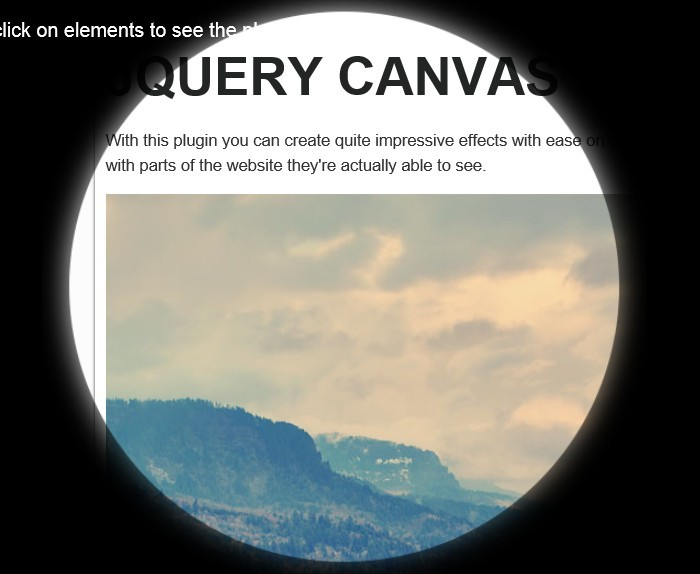 jQuery Plugin For HTML5 Canvas Overlay Effects - Canvas Overlay