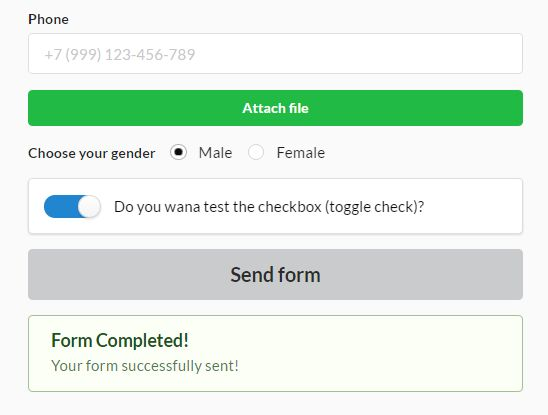 jQuery Plugin For Handling AJAX Form Submission - fajax | Free ...