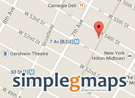 how to add google map in website using jquery