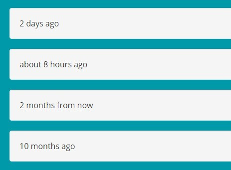 Jquery date format