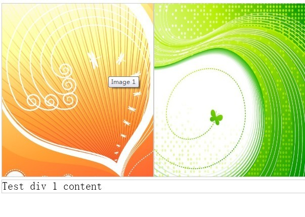 jQuery Plugin For Image Banner with Swapping Description - divSwappingBanner
