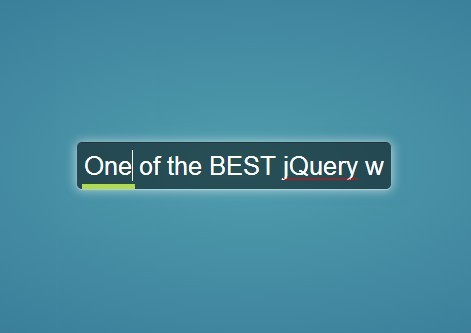 jQuery Plugin For Input Field Position Indicator