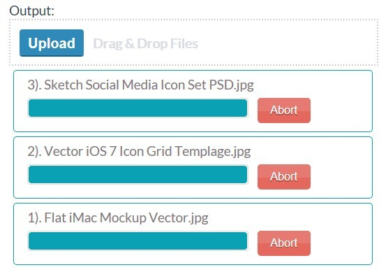 jQuery Plugin For Multiple File Uploader - Upload File | Free jQuery