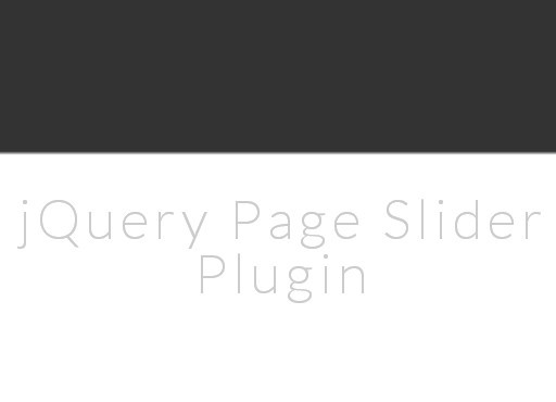 jQuery Plugin For One Page Parallax Scrolling Website - Page Slider