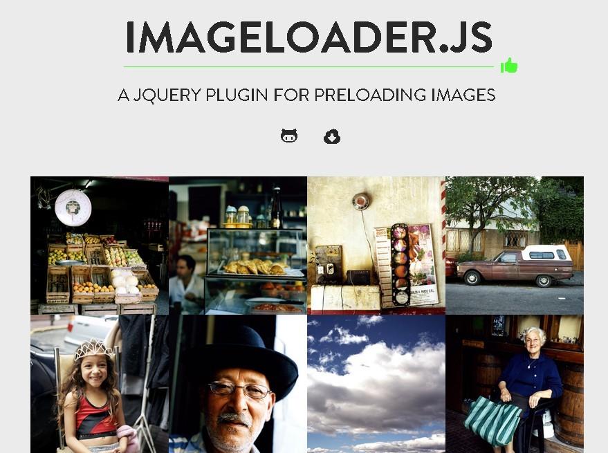 jQuery Plugin For Preloading Images With Javascript - imageloader