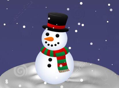 jQuery Plugin For Random Snow Falling Effect - fallingsnow.js