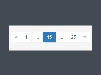 jQuery Plugin For Responsive Bootstrap Pagination Component - rpage