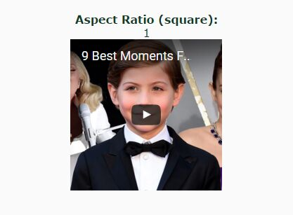 jQuery Plugin For Responsive Element With Specific Aspect Ratio - Responsive Ratio