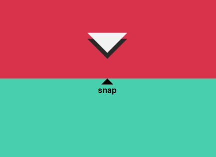 jQuery Plugin For Scroll And Snap Functionality - Scroll Snap