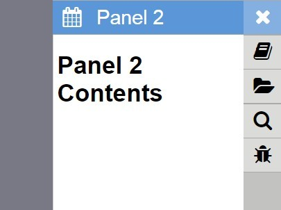 jQuery Plugin For Sidebar Sliding Menu - Slidemenu