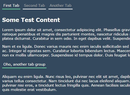 jQuery Plugin For Simple Nice Tab Slider - TabIt