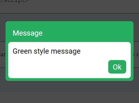 jQuery Plugin For Simple Themeable Alerts - Screamer