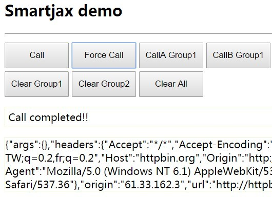 jQuery Plugin For Smarter Ajax Calls - Smartjax
