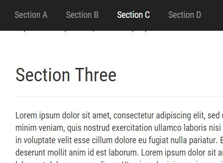 jQuery Plugin For Smooth Anchor Scrolling - lightweightScrollTo
