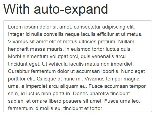 jQuery Plugin For Smooth Auto-expanding Textarea - autoexpand