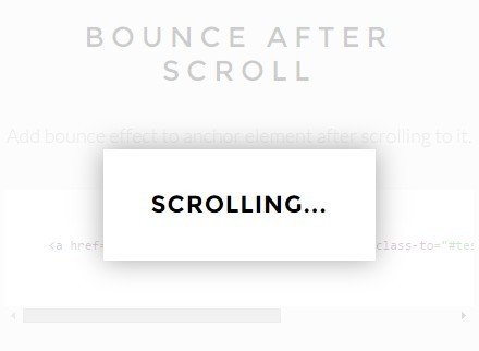 jQuery Plugin For Smooth Page Scrolling with Fancy Effects - anchorScroll
