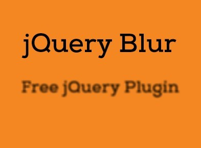 jQuery Plugin For Text Blur Out And In Effects with CSS3 - Blur