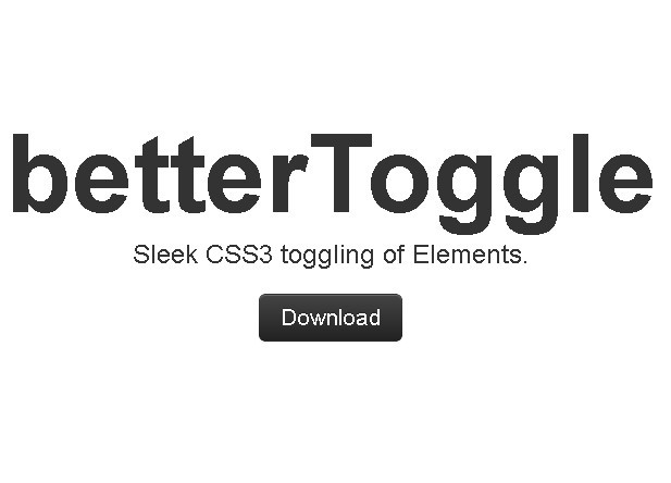jQuery Plugin For Toggling Elements with Transform Effect - betterToggle