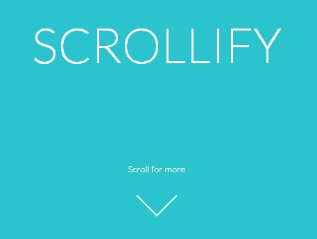 Easy jQuery Plugin For Vertical Scroll Snapping - Scrollify