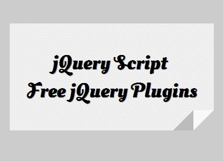 jQuery Plugin To Add A Folded Paper Corner To An Element - jCorner