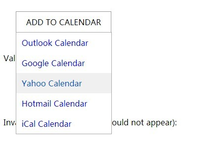 jQuery Plugin To Add Custom Events To Online Calendar Apps - AddCalEvent