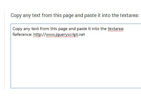 jQuery Plugin To Add Reference And Copyright Text To Copied Content