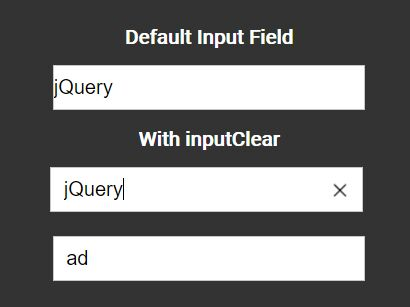 jQuery Plugin To Add Reset Buttons On Input Fields - inputClear