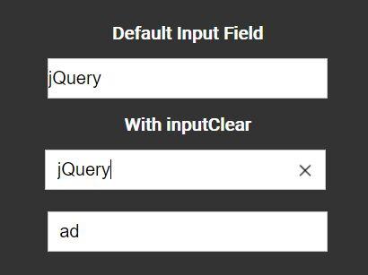 jQuery Plugin To Add Reset Buttons On Input Fields
