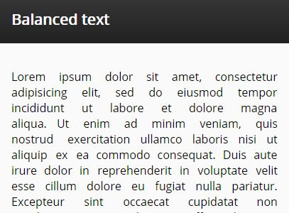 jQuery Plugin To Balance The Remaining (Empty) Space In Text - BalanceText